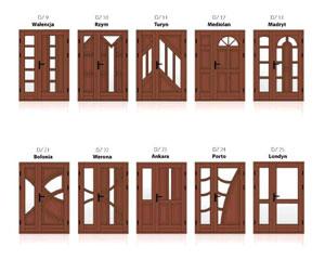 двери входные из дерева 1900х800
